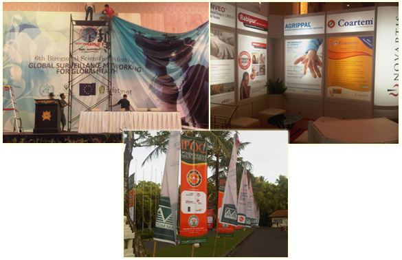 Backdrop - Partisi Pameran